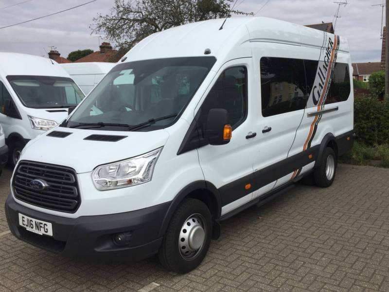 FORD TRANSIT 460 H/R 17 SEAT BUS Car Hire Deals